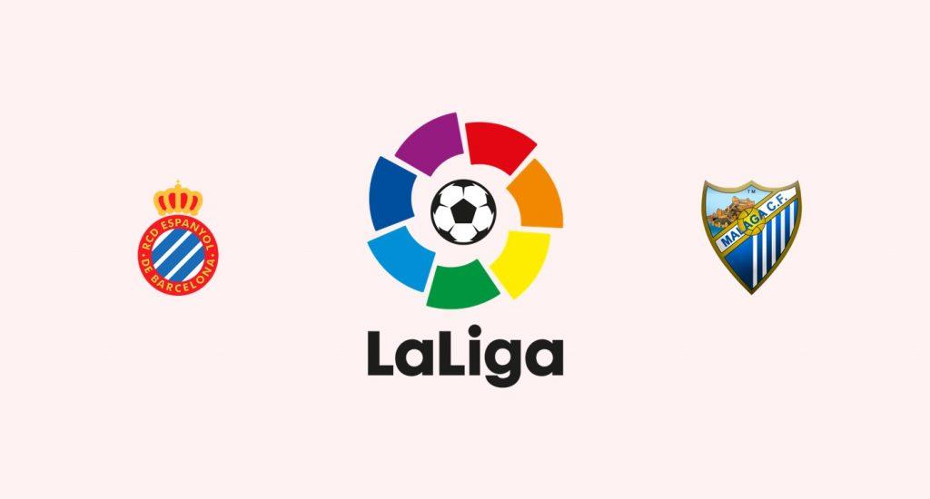 Espanyol v Málaga Previa, Predicciones y Pronóstico