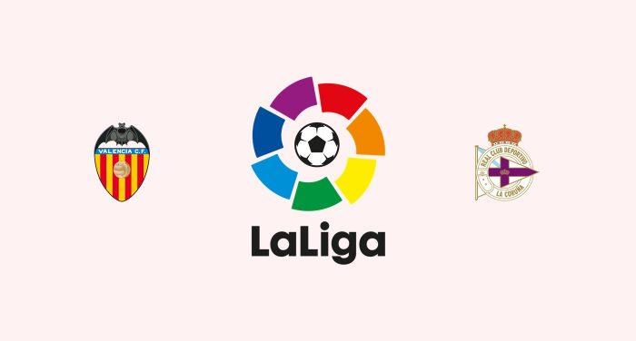 Valencia v Deportivo La Coruña Previa, Predicciones y Pronóstico