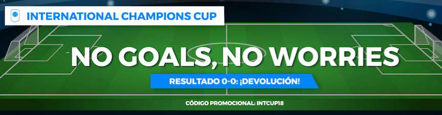 International Champions Cup devolución Pastón