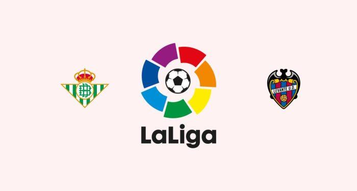 Betis vs Levante Previa, Predicciones y Pronóstico 14/08/2018