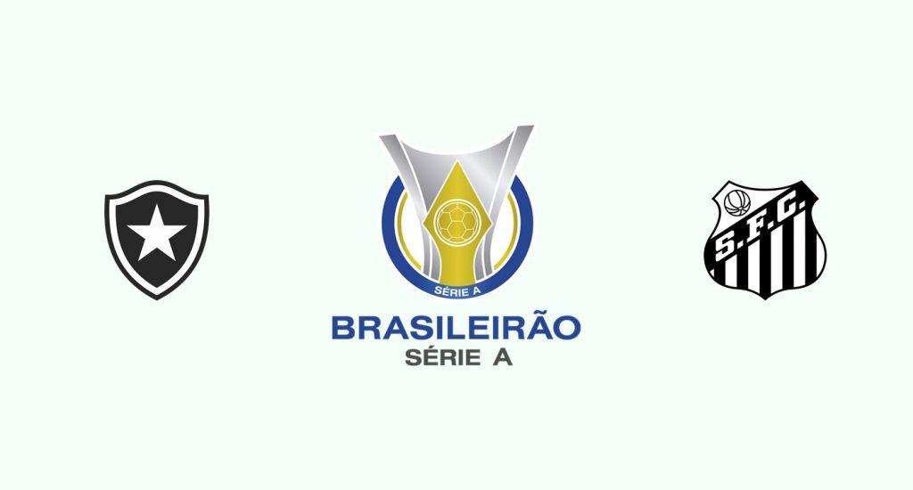 Botafogo v Santos Previa, Predicciones y Pronóstico