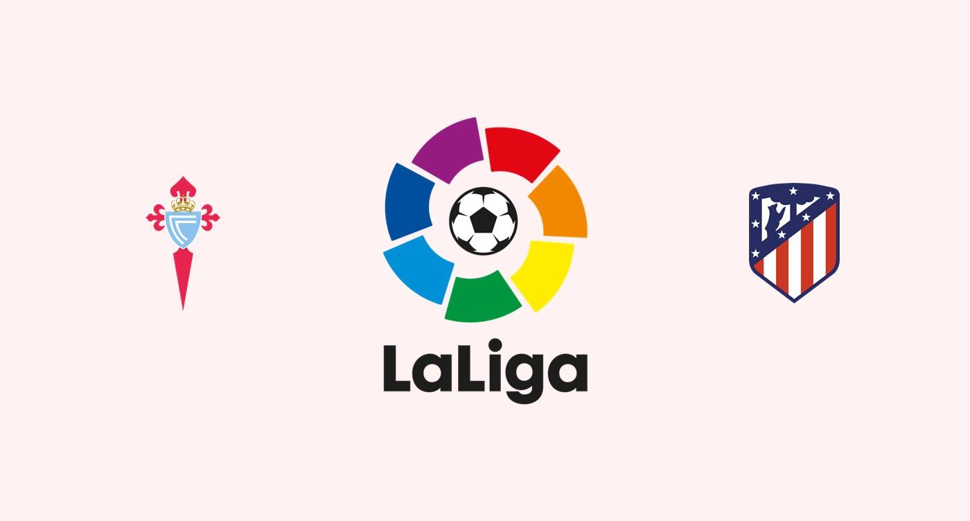 Celta Vigo v Atlético Madrid