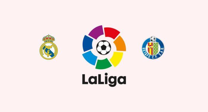 Real Madrid v Getafe Previa, Predicciones y Pronóstico 19-08-2018