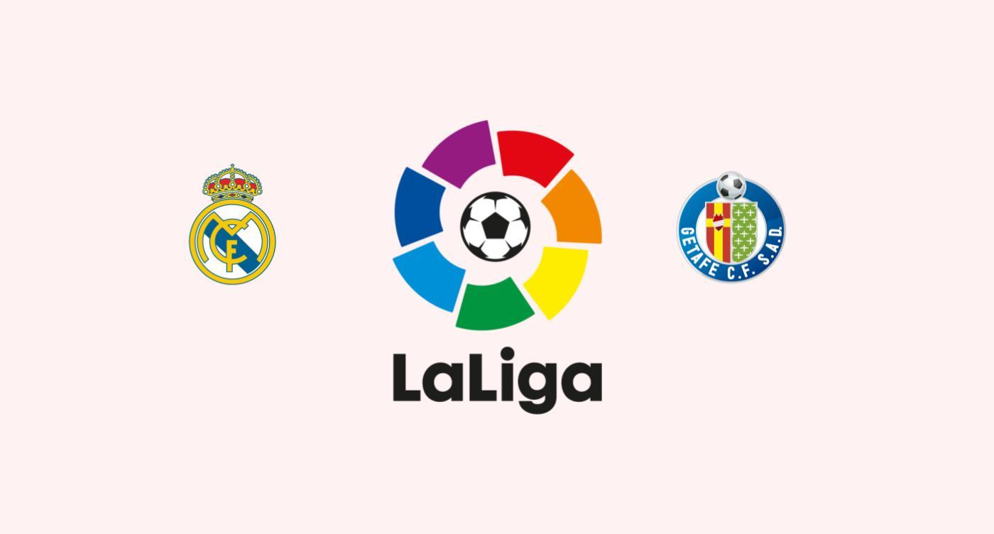 Real Madrid v Getafe
