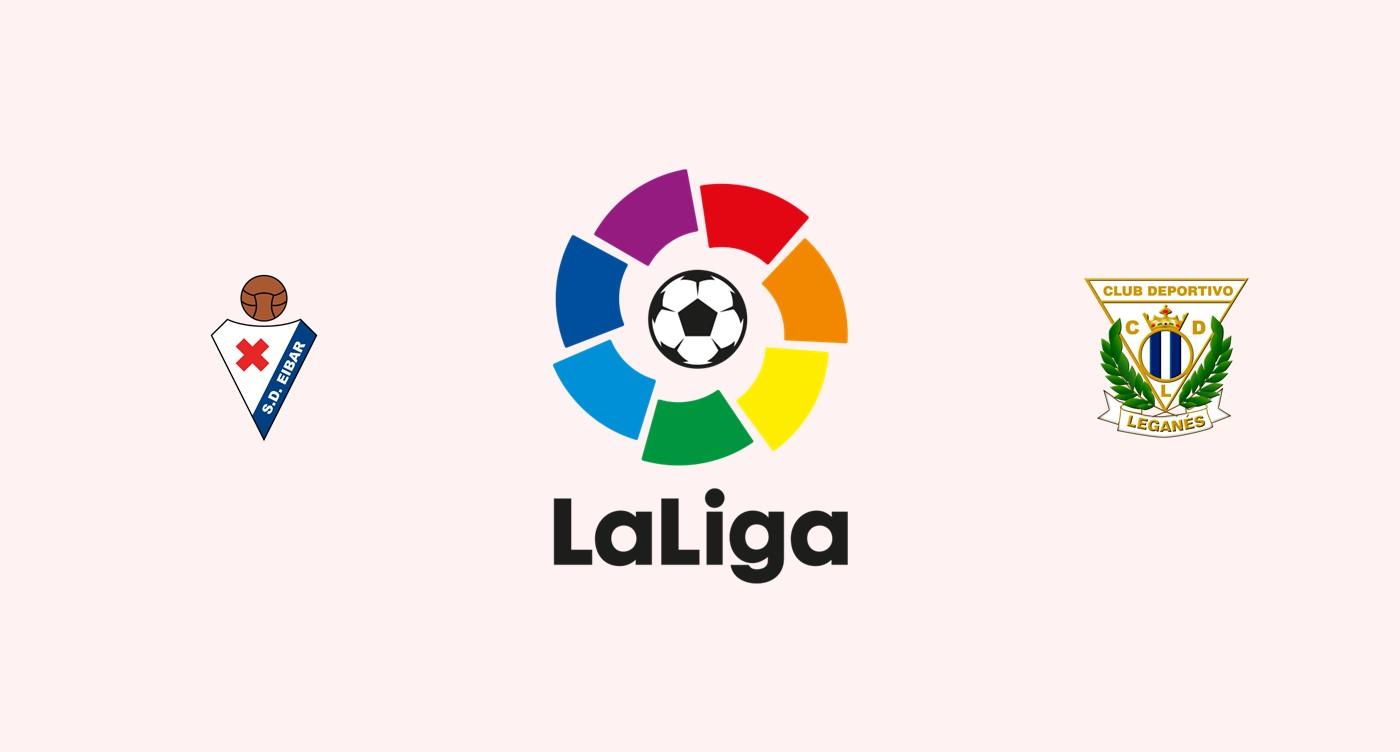 Eibar v Leganés Previa, Predicciones y Pronóstico 22-09-2018