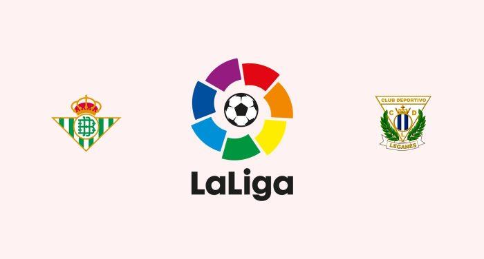 Betis v Leganés Previa, Predicciones y Pronóstico 28-09-2018
