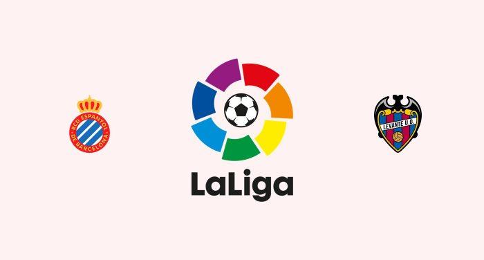 Espanyol v Levante Previa, Predicciones y Pronóstico