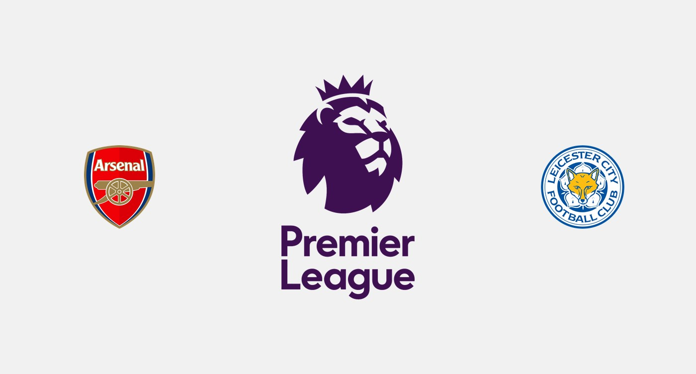 Arsenal v Leicester City previa, Predicciones y Pronóstico