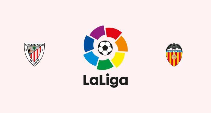 Athletic Club v Valencia Previa, Predicciones y Pronóstico 04-10-2018