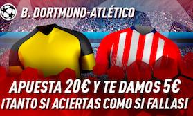 Borussia Dortmund v Atlético Madrid Sportium
