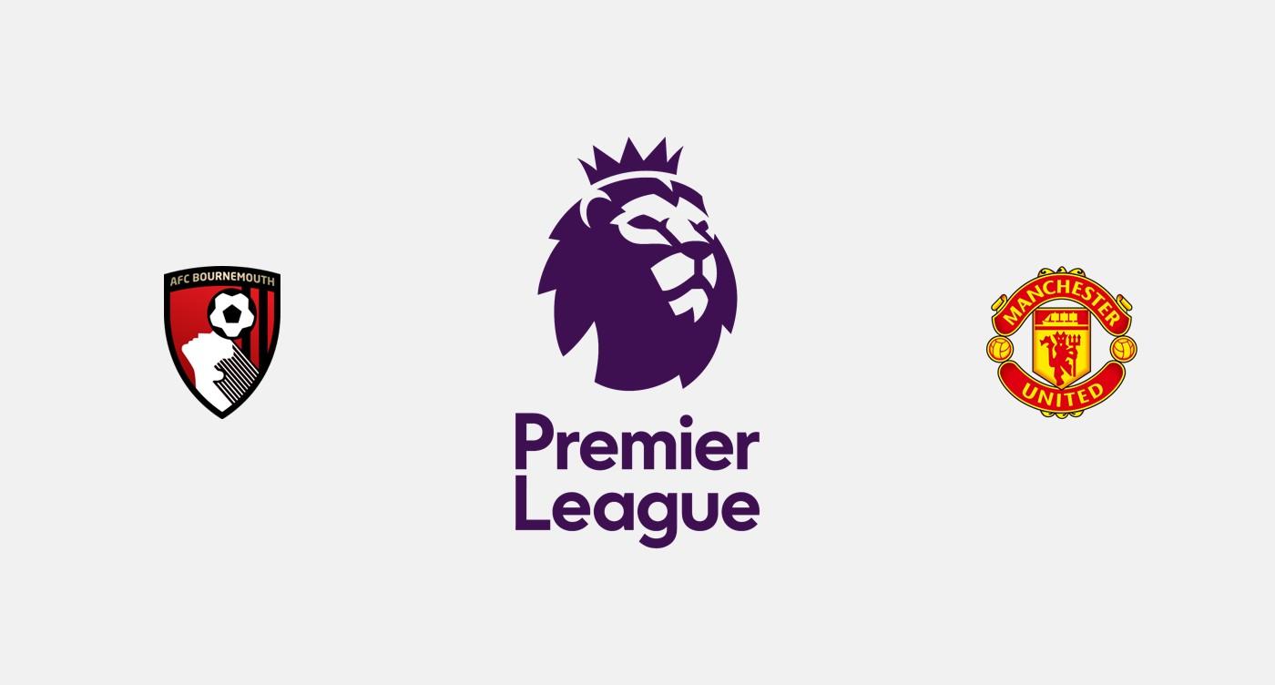 Bournemouth v Manchester United Previa, Predicciones y Pronóstico