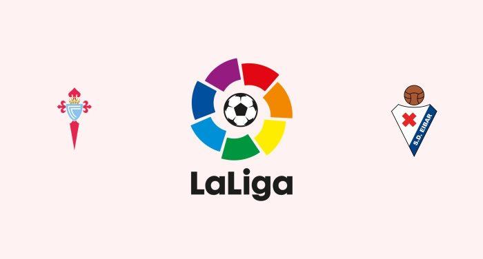Celta Vigo v Eibar Previa, Predicciones y Pronóstico