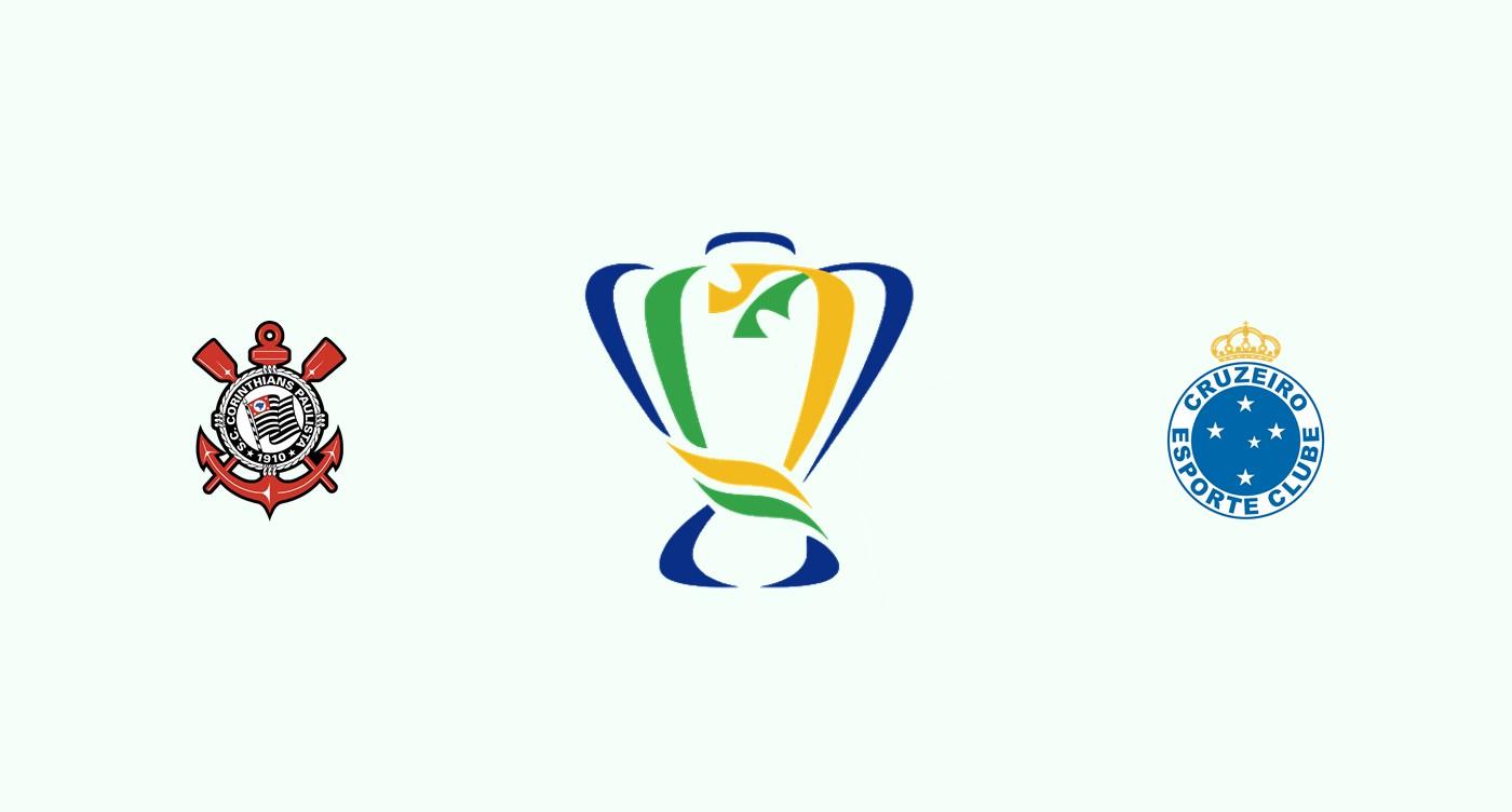 Corinthians v Cruzeiro