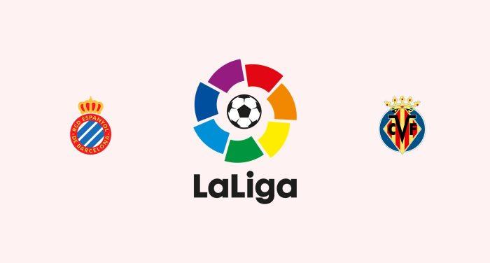 Espanyol v Villarreal Previa, Predicciones y Pronóstico 06-10-2018