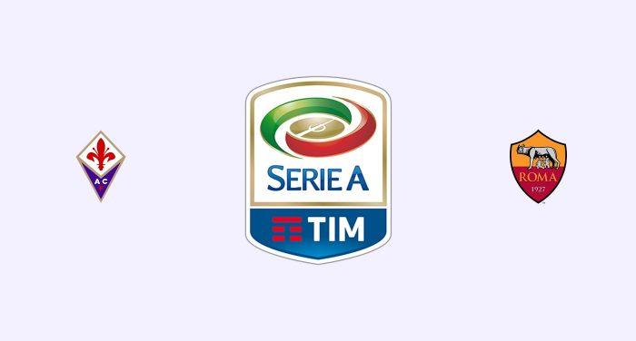 Fiorentina v Roma Previa, Predicciones y Pronóstico
