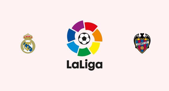 Real Madrid v Levante Previa, Predicciones y Pronóstico 16-10-2018