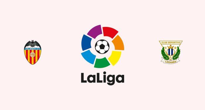 Valencia v Leganés Previa, Predicciones y Pronóstico 17-10-2018