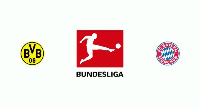 Borussia Dortmund v Bayern Munich previa, Predicciones y Pronóstico