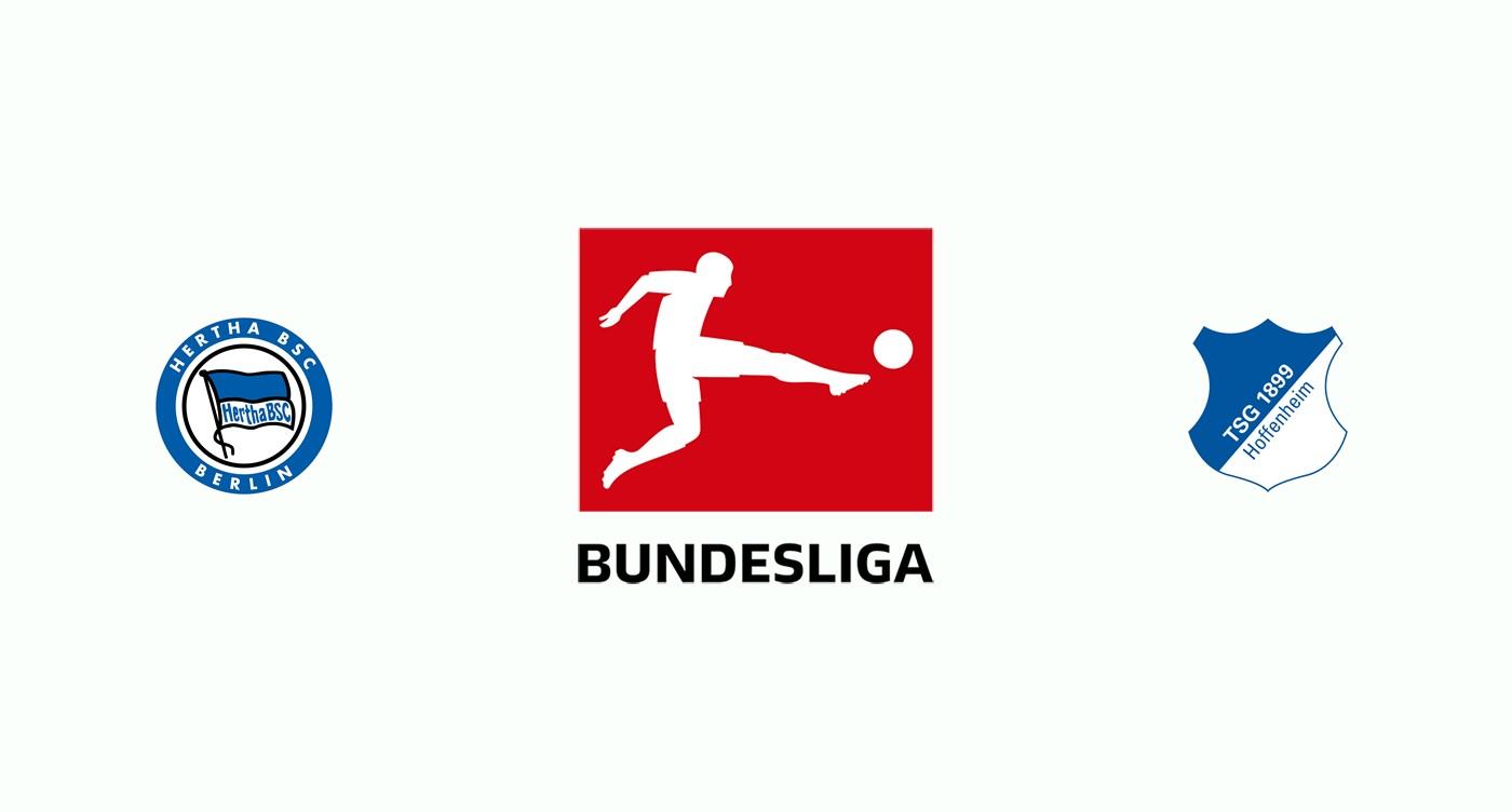 Hertha Berlín v Hoffenheim Previa, Predicciones y Pronóstico