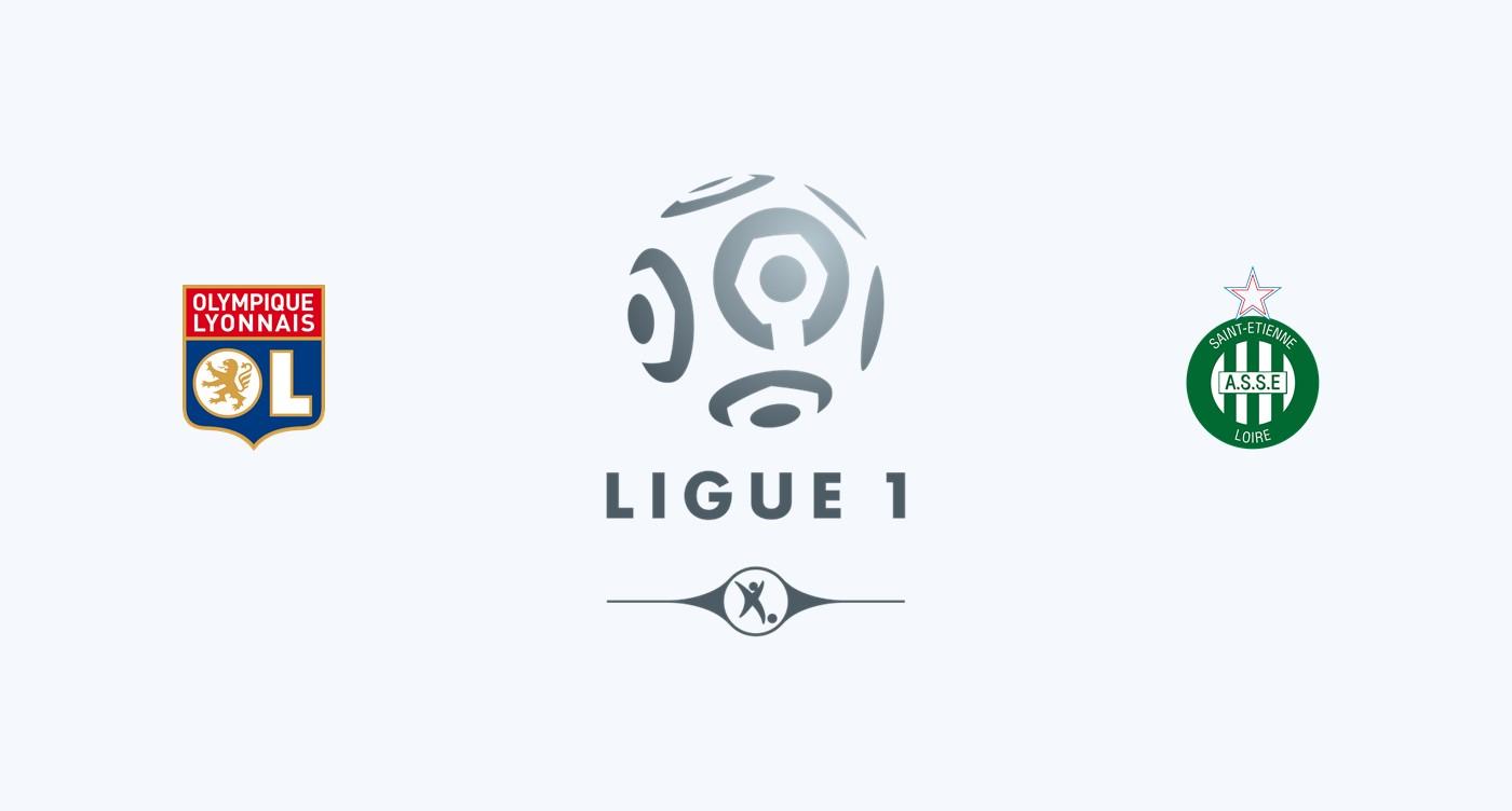 Olympique Lyon v Saint Etienne Previa, Predicciones y Pronóstico