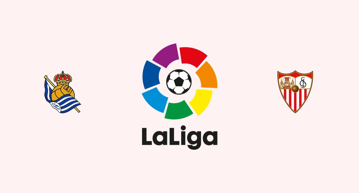 Real Sociedad v Sevilla Previa, Predicciones y Pronóstico
