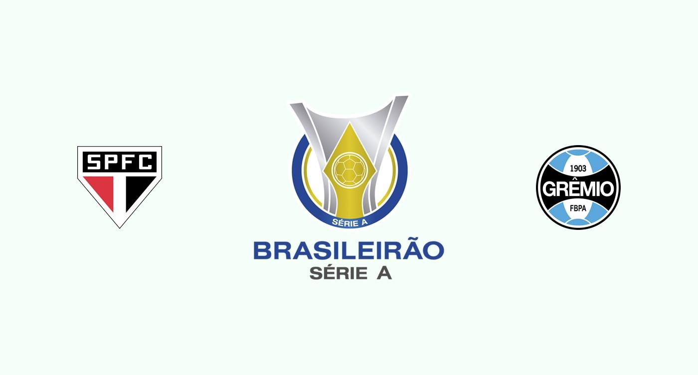 Sao Paulo v Gremio Previa, Predicciones y Pronóstico