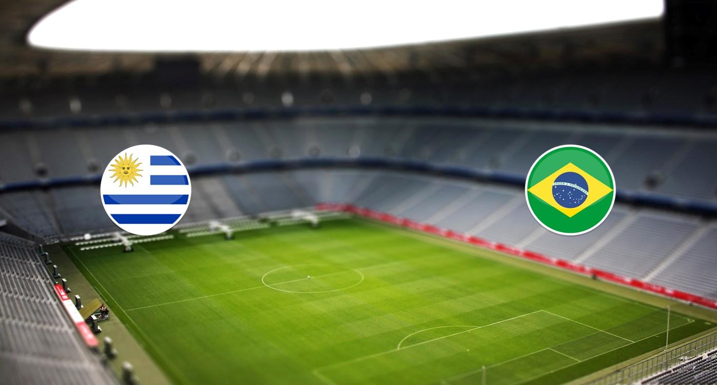 Uruguay v Brasil