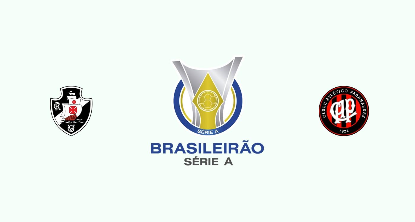 Vasco Gama v Atlético Paranaense Previa, Predicciones y Pronóstico