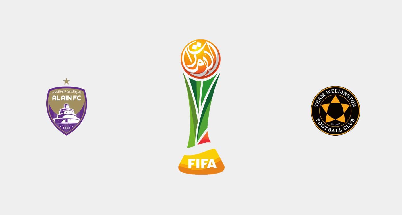 Al-Ain v Team Wellington Previa, Predicciones y Pronóstico