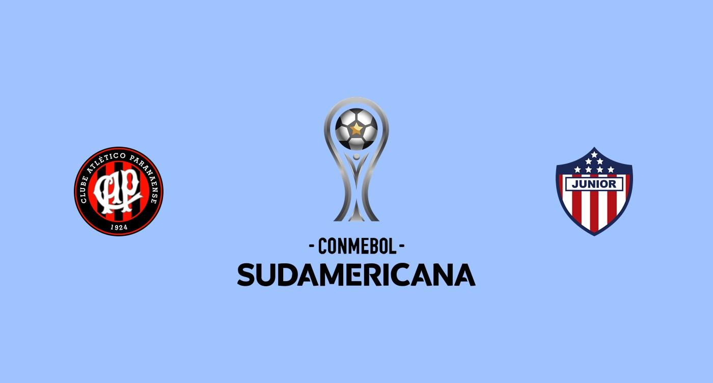 Atlético Paranaense v Junior