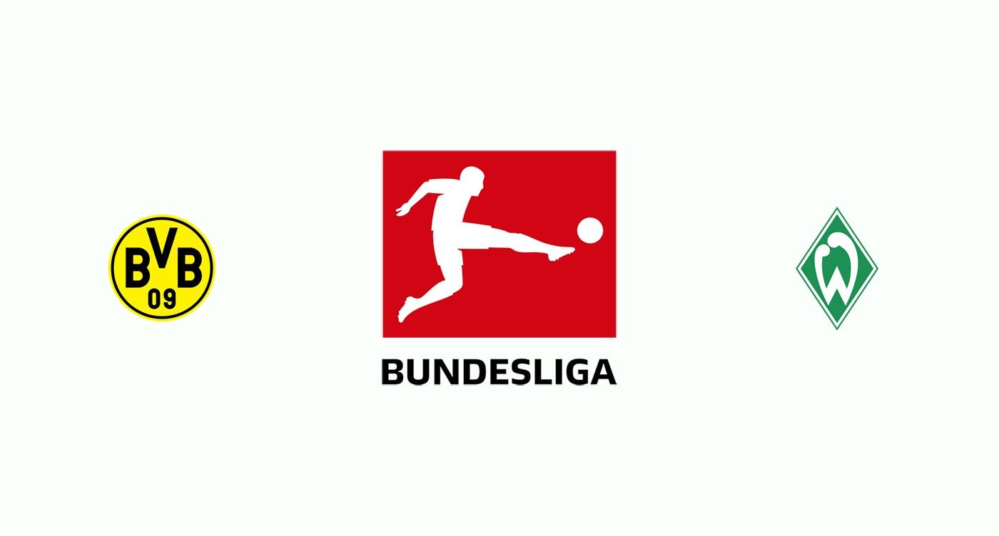 Borussia Dortmund v Werder Bremen Previa, Predicciones y Pronóstico