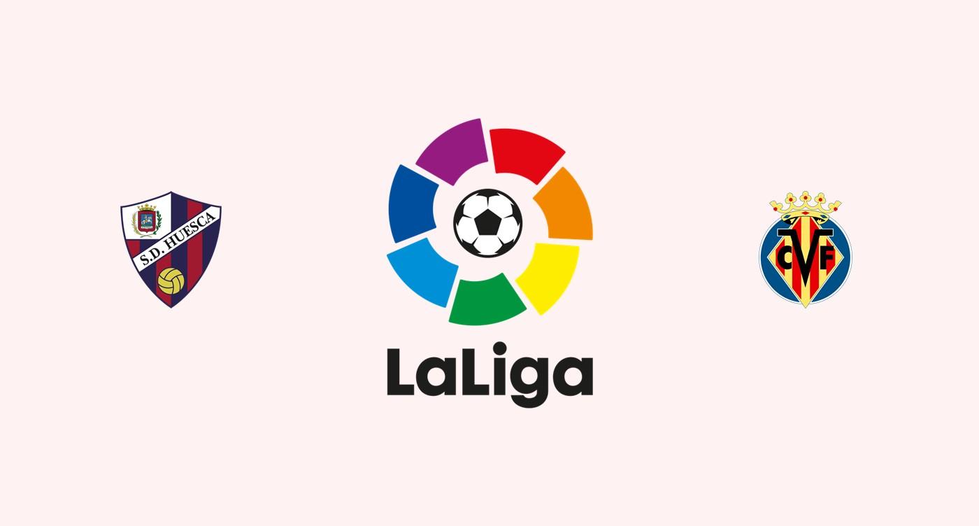 Huesca v Villarreal Previa, Predicciones y Pronóstico