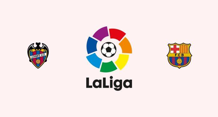 Levante v Barcelona Previa, Predicciones y Pronóstico 12/12/2018
