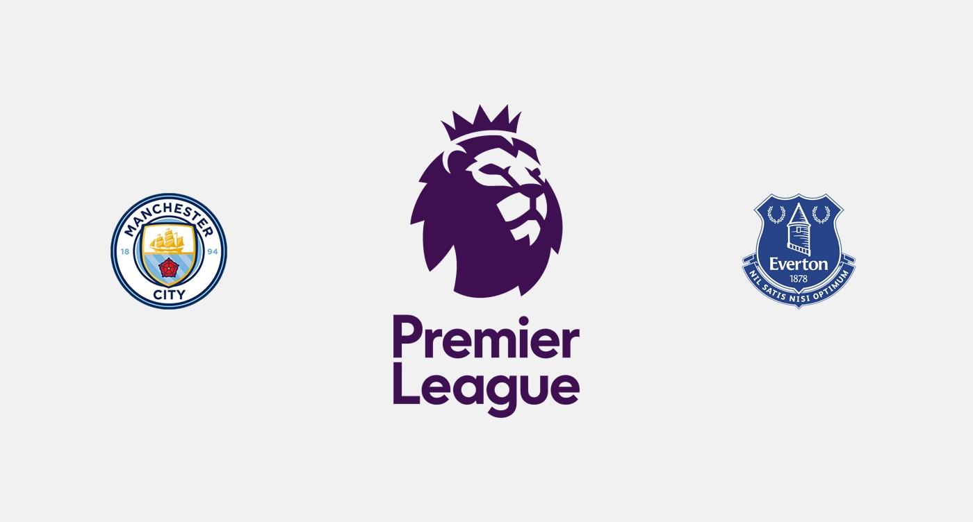 Manchester City v Everton Previa, Predicciones y Pronóstico