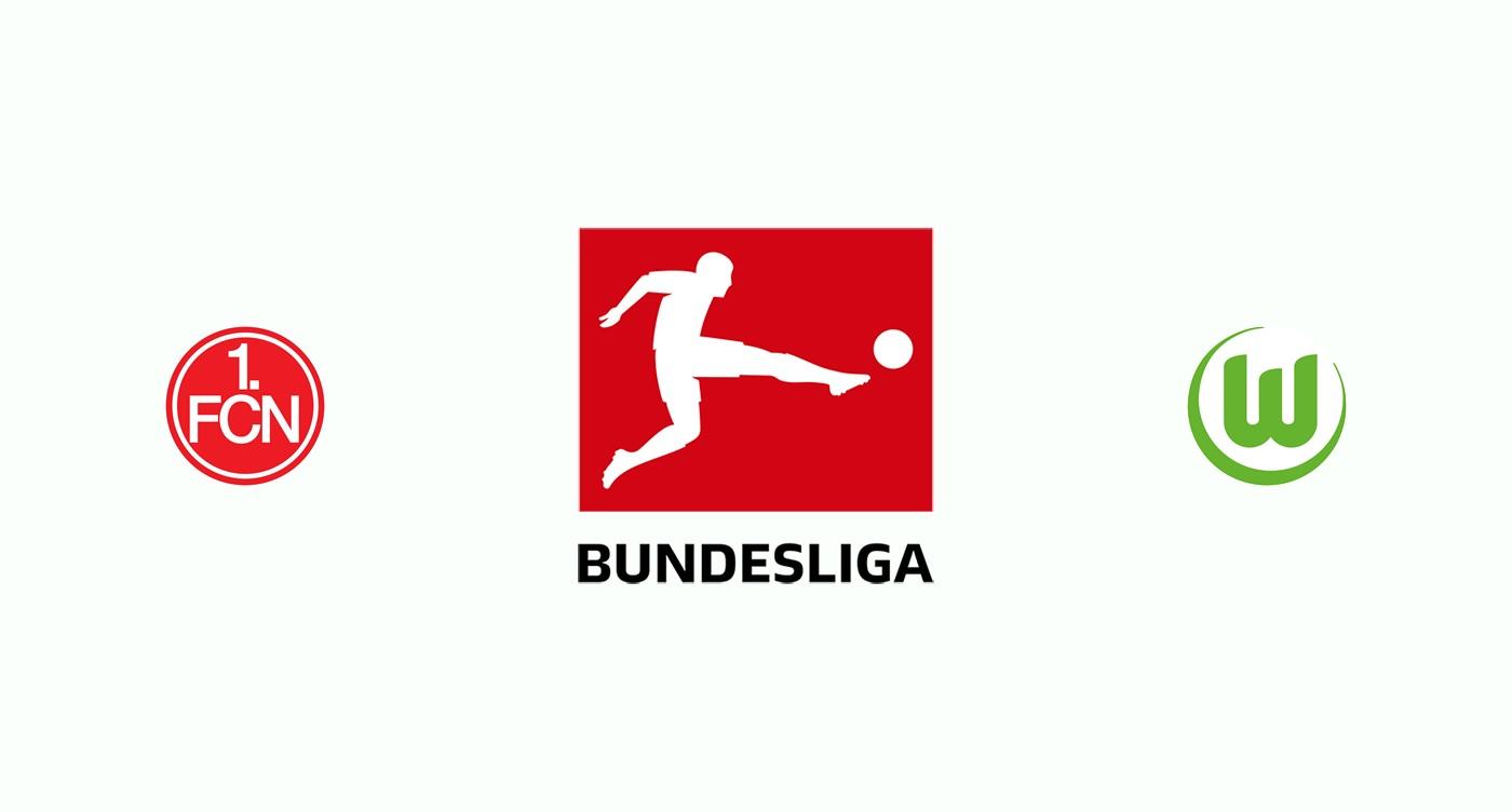 Nuremberg v Wolfsburgo Previa, Predicciones y Pronóstico