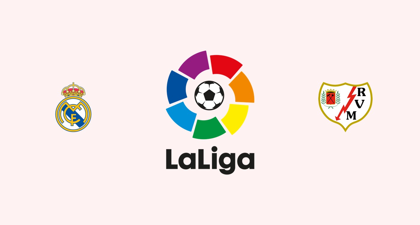 Real Madrid v Rayo Vallecano Previa, Predicciones y Pronóstico