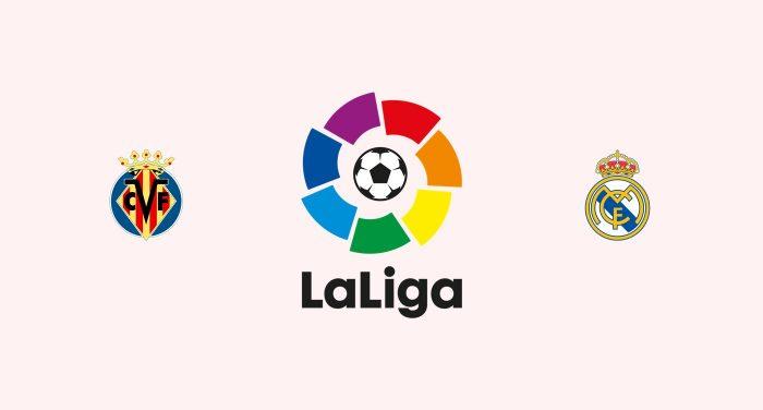 Villarreal vs Real Madrid Previa, Predicciones y Pronóstico 02-01-2019
