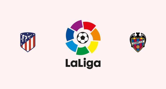 Atlético Madrid vs Levante Previa, Predicciones y Pronóstico