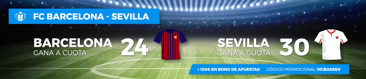 Barcelona v Sevilla Megacuota PASTON Copa del Rey