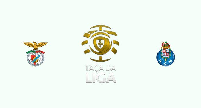 Benfica vs Oporto Previa, Predicciones y Pronóstico 21-01-2019