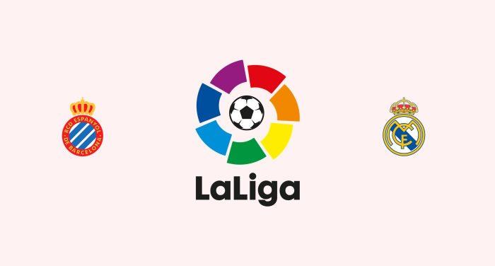 Espanyol vs Real Madrid Previa, Predicciones y Pronóstico 27-01-2019