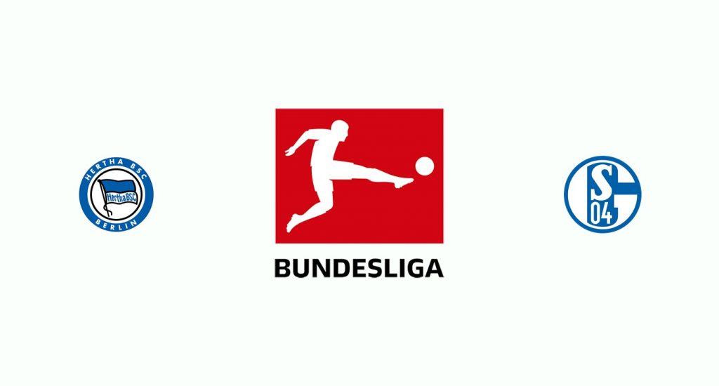 Hertha Berlín v Schalke 04 Previa, Predicciones y Pronóstico