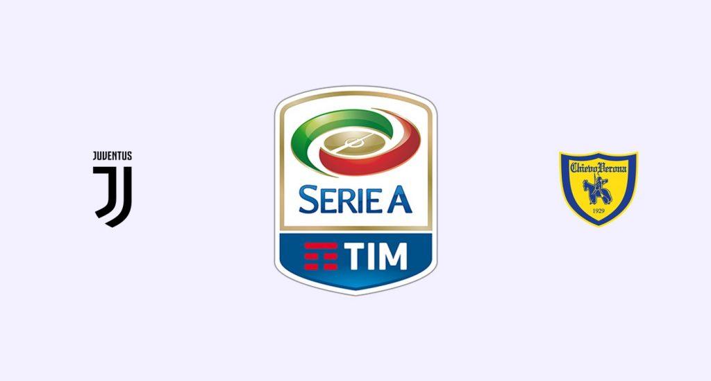 Juventus vs Chievo Previa, Predicciones y Pronóstico
