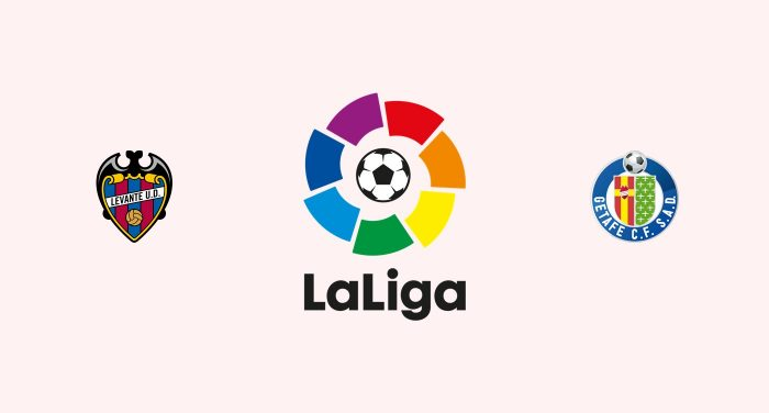 Levante vs Getafe Previa, Predicciones y Pronóstico 30-01-2019