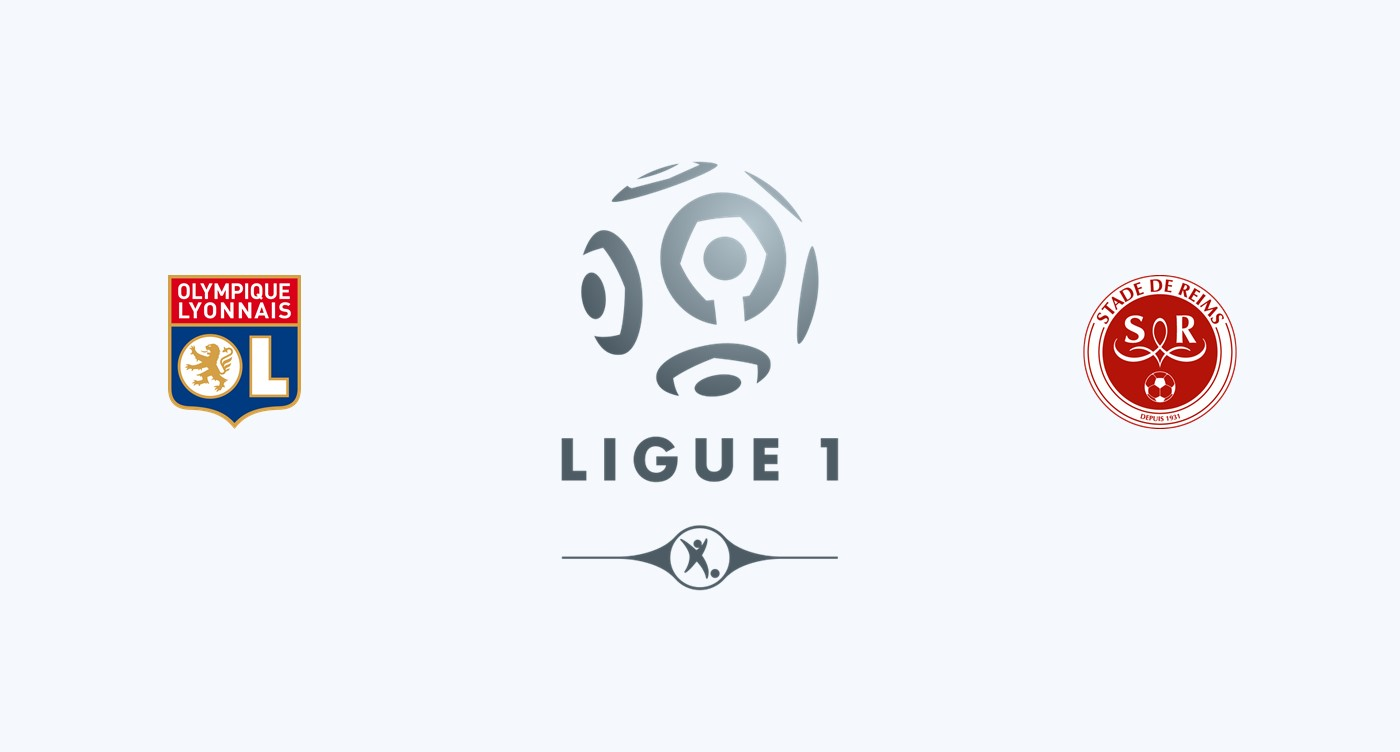 Olympique Lyon v Stade Reims
