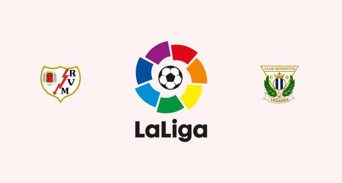 Rayo Vallecano vs Leganés Previa, Predicciones y Pronóstico 01/02/2019