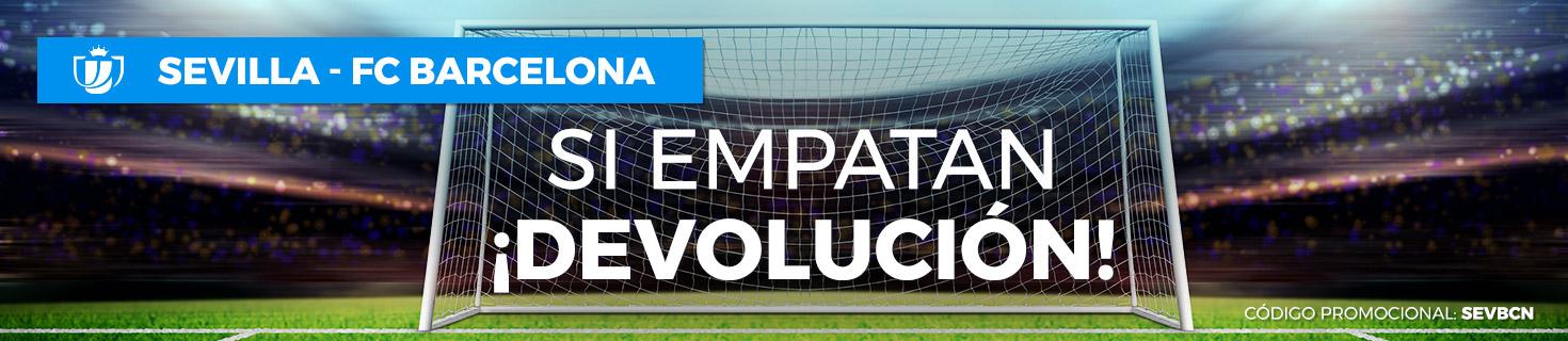 Sevilla v Barcelona devolucion empate