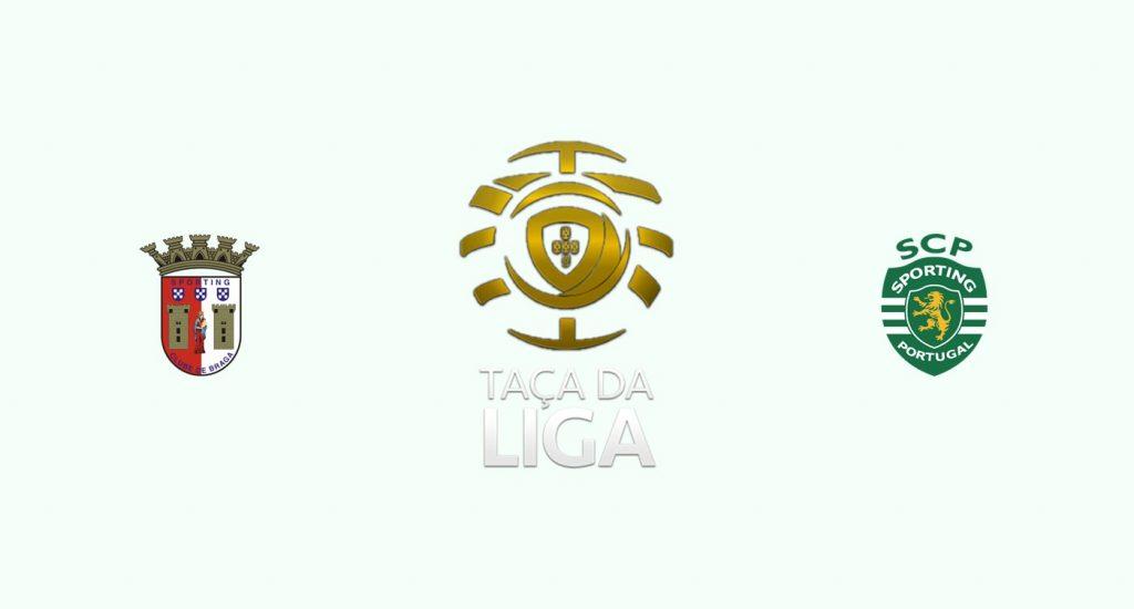 Sporting Braga v Sporting Lisboa Previa, Predicciones y Pronóstico