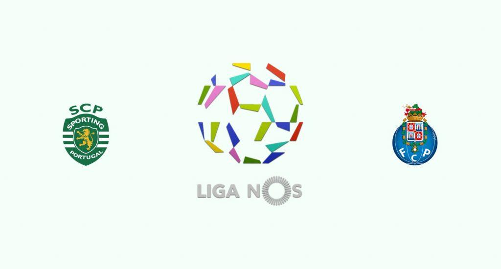 Sporting Lisboa v Oporto Previa, Predicciones y Pronóstico 09-01-2019