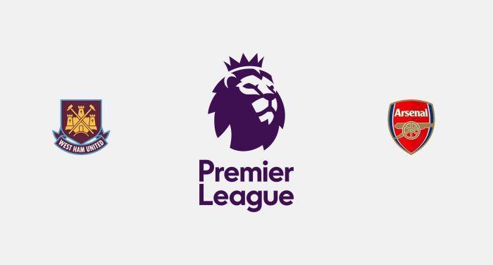 West Ham v Arsenal Previa, Predicciones y Pronóstico